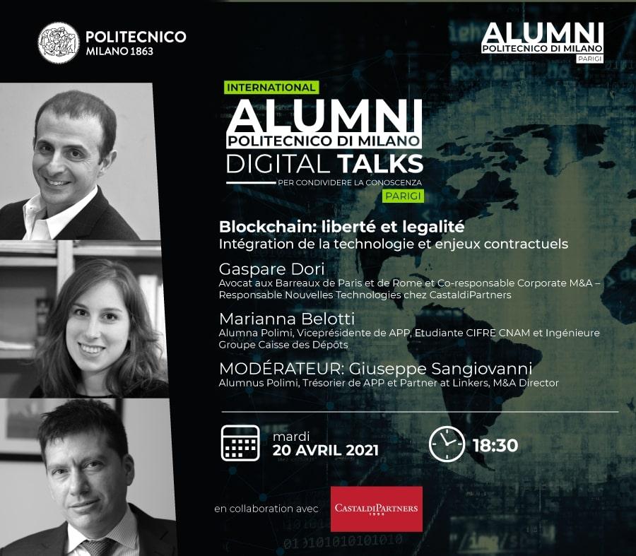 digital talks blockchain