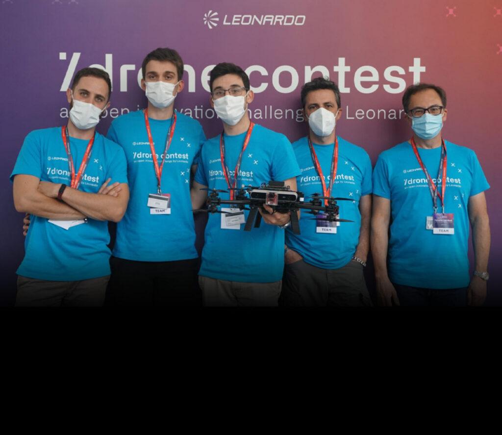 leonardo drone contest home\